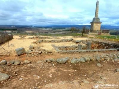 Yacimiento Numancia y Villa Almazán;tiatordos renclusa los pueblos negros